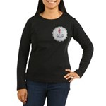 Santa I Was FRAMED! Women's Long Sleeve Dark T-Shi