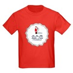 Santa I Was FRAMED! Kids Dark T-Shirt