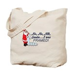 Santa I Was FRAMED! Tote Bag