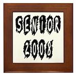 Senior 2008 Framed Tile