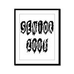 Senior 2008  Framed Panel Print