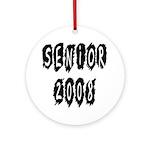 Senior 2008 Ornament (Round)