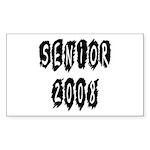 Senior 2008 Rectangle Sticker