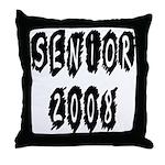 Senior 2008  Throw Pillow