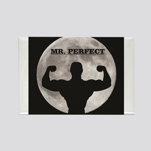 Mr perfect in the moon Magnets
