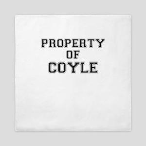 Property of COYLE Queen Duvet