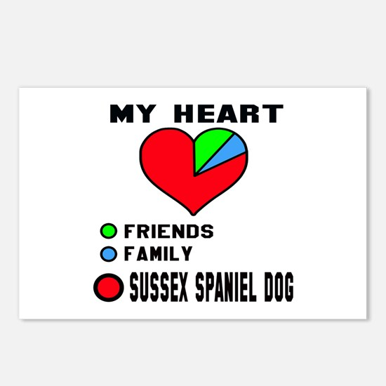My Heart, Friends, Family Postcards (Package of 8)