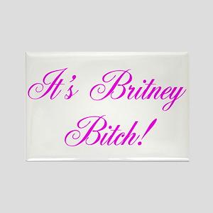 Britney Rectangle Magnet