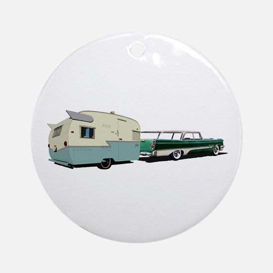 Hittin' the Road Ornament (Round)