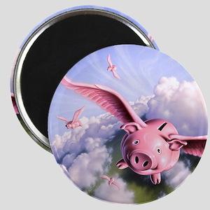Pigs Away! Magnet
