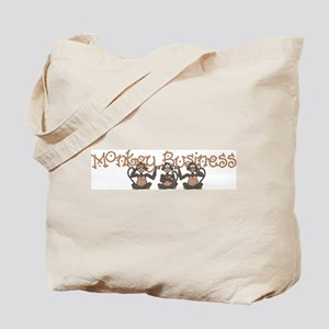 Monkey Business<br> Tote Bag