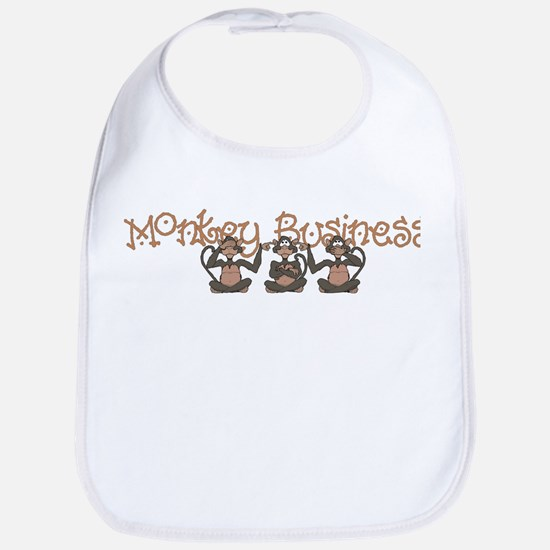 Monkey Business<br> Bib
