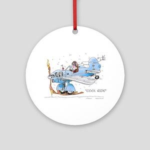 Cool Ride Ornament (Round)