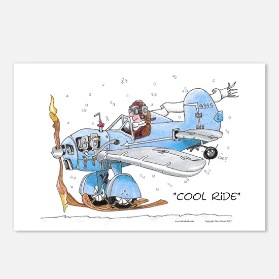 Cool Ride Postcards (Package of 8)