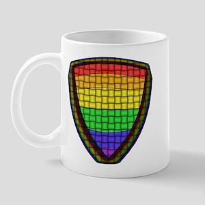 RAINBOW PRIDE BADGE/WOVEN Mug
