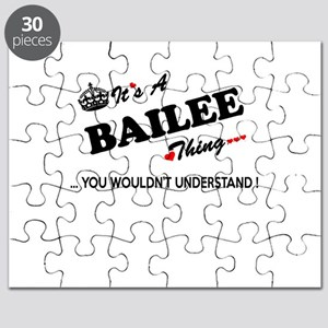 BAILEE thing, you wouldn't understand Puzzle