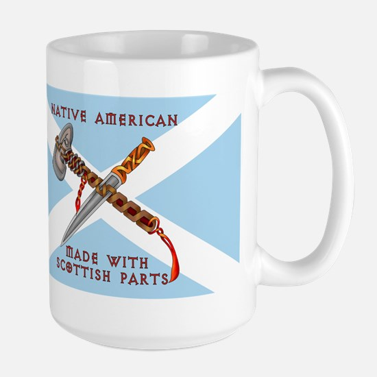 Native American/Scots Travel Mugs