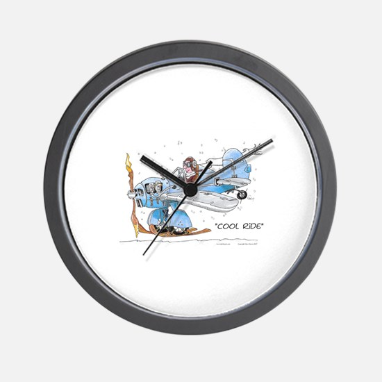 Cool Ride Wall Clock