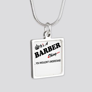 BARBER thing, you wouldn't understand Necklaces