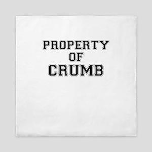 Property of CRUMB Queen Duvet