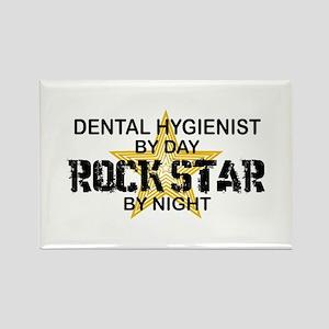 Dental Hygienist RockStar Rectangle Magnet