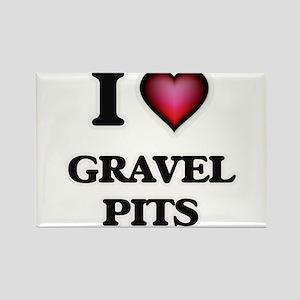 I love Gravel Pits Magnets