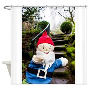 Garden Gnome Shower Curtains