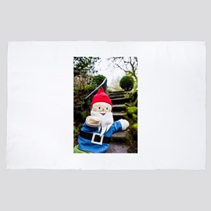 Mossy Stairs Gnome 4' x 6' Rug