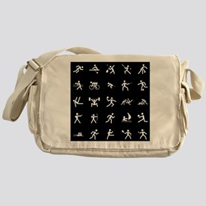 Sport Icons Messenger Bag