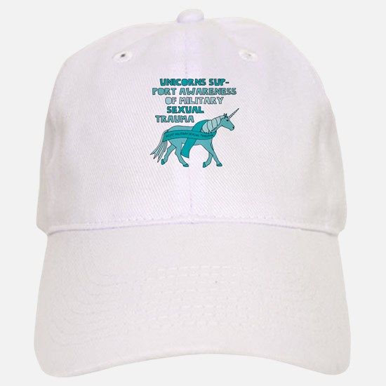 Unicorns Support Awareness Of Military Sexual Baseball Baseball Cap