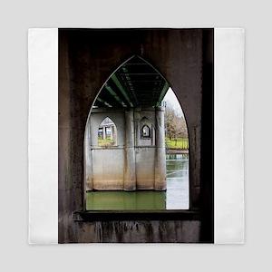 River Window Queen Duvet