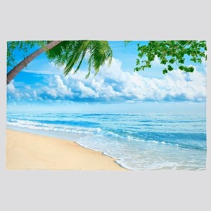 Tropical Beach 4' X 6' Rug