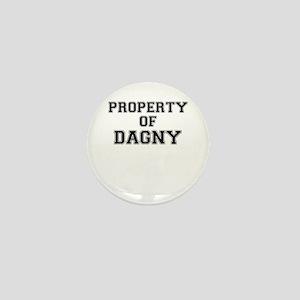 Property of DAGNY Mini Button