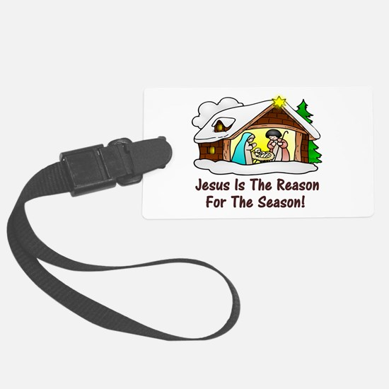 Jesus is the reason for the seas Luggage Tag