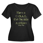 GOAL - Get Outside And Live Women's Plus Size Scoo