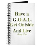 GOAL - Get Outside And Live Journal