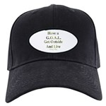 GOAL - Get Outside And Live Black Cap