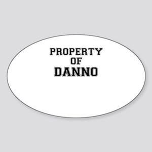 Property of DANNO Sticker