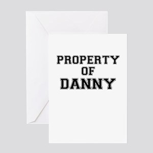 Property of DANNY Greeting Cards