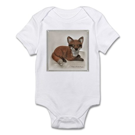 Fox Resting Design Infant Bodysuit