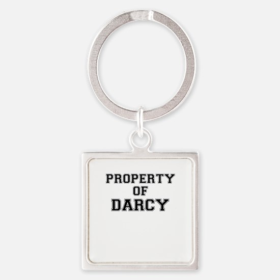 Property of DARCY Keychains
