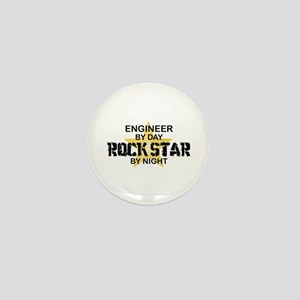 Engineer Rock Star by Night Mini Button