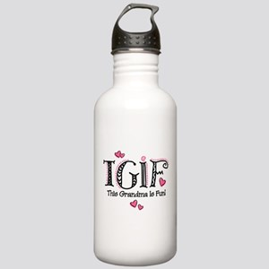 TGIF Fun Grandma Stainless Water Bottle 1.0L