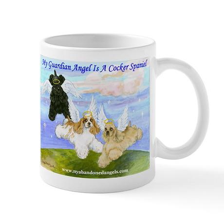 Cocker-Angels-Medium Mugs