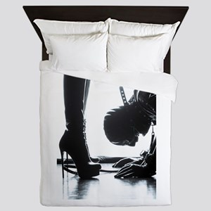 Male Submissive Queen Duvet