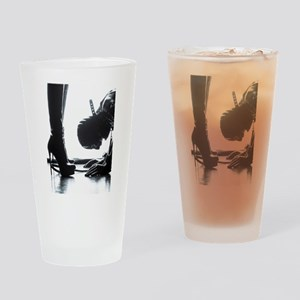 Male Submissive Drinking Glass