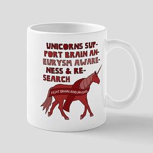 Unicorns Support Brain Aneurysm Awareness Mugs