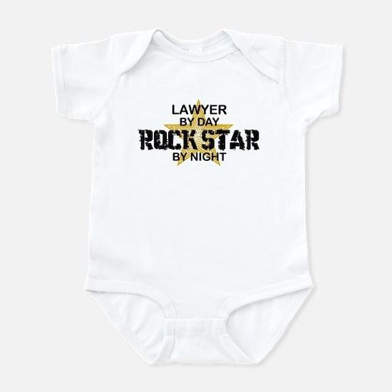 Lawyer RockStar by Night Infant Bodysuit