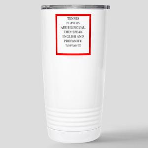 Tennis joke Travel Mug
