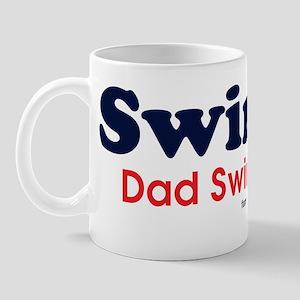 Swim Dad Swim Mug